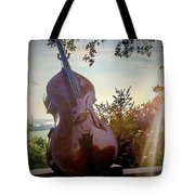 Bass Rhythm And Sound Of A Community  Tote Bag