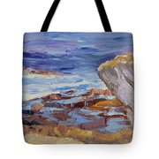 Bass Rocks Tote Bag
