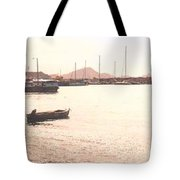 Basseterre Harbour Tote Bag