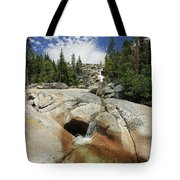 Bassi Falls...nature Nurtures Tote Bag