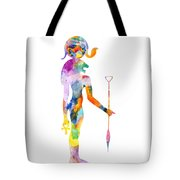 Bastet- God Of Ancient Egypt Tote Bag