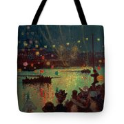 Bastille Day At Lorient Tote Bag