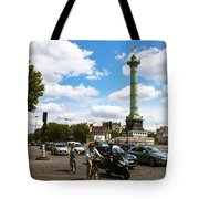 Bastille Tote Bag by Milan Mirkovic