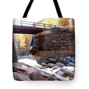Bastion Falls Bridge 4 Tote Bag
