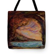 Bat Cave St. Philip Barbados  Tote Bag