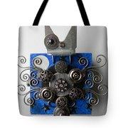 Bat Tote Bag by Jen Hardwick