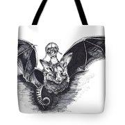 Bat Mobile Tote Bag