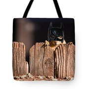 Bat Squirrel  The Cape Crusader Known For Putting Away Nuts.  Tote Bag