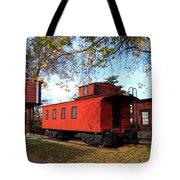 Batavia Depot Caboose Tote Bag by Ely Arsha