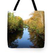 Batavia, Ohio Creek - Other Side Vertical Tote Bag