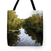 Batavia, Ohio Creek Vertical Tote Bag
