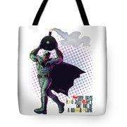 Batfleck And The Bomb 2 Tote Bag