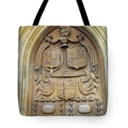 Bath Abbey Door Tote Bag