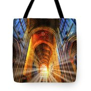 Bath Abbey Sun Rays Tote Bag