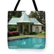 Chanticleer Bath House A Tote Bag