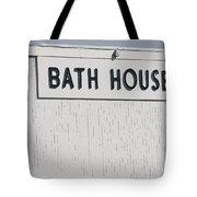 Bath House Tote Bag