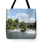 Bathampton Bridge Tote Bag