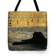 Bathed In Golden Light Tote Bag