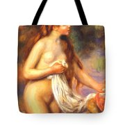 Bather 2 Tote Bag