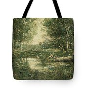 Bathers. Woodland Tote Bag