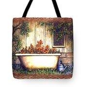 Bathtub Garden Tote Bag