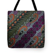 Batik Art Pattern Tote Bag