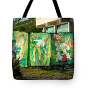 Batik Studio At Coba Village Tote Bag