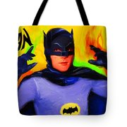 Batman, Adam West Tote Bag