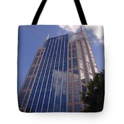 Batman Building In Down Town Nashville Tote Bag
