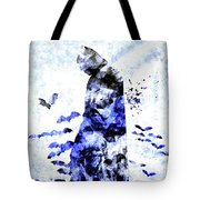 Batman Colored Grunge Tote Bag