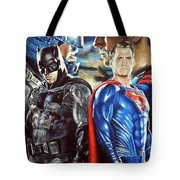 Batman V Superman Tote Bag