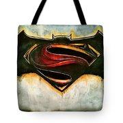Batman Vs Superman Tote Bag