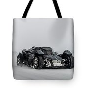 Batmobile Snowtour Tote Bag