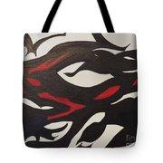 Bats And Eyes Tote Bag