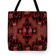 Bats In The Dark Tote Bag