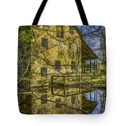 Batsto Gristmill Reflection Tote Bag