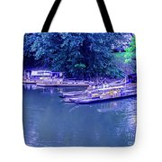 Batteaux At Cartersville Landing 1095t Tote Bag