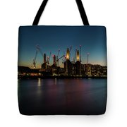 Battersea Power Station On The Thames, London Tote Bag
