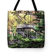 Battery Park Fall Colors  Tote Bag