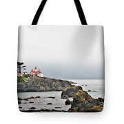 Battery Point Lighthouse California Tote Bag