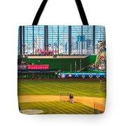 Batting Practice Tote Bag