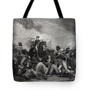 Battle At Princeton New Jersey Usa 1775 Tote Bag
