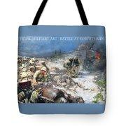 Battle At Roberts Ridge Tote Bag