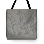 Battle Flags Tote Bag