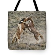 Battle For Dominance Tote Bag