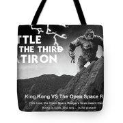 Battle For The Third Flatiron Tote Bag