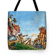 Battle Of Agincourt Tote Bag