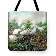 Battle Of Atlanta Tote Bag
