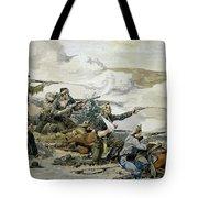 Battle Of Beecher's Island Tote Bag