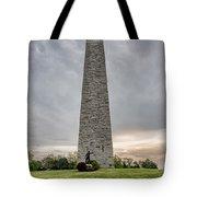 Battle Of Bennington Monument Tote Bag